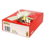 APLI 383 STRUNG TICKETS 7X19MM WHITE BOX 1000