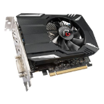 Asrock Phantom Gaming Radeon RX550, 2GB DDR5, PCIe3, DVI, HDMI, DP, 1230MHz Clock
