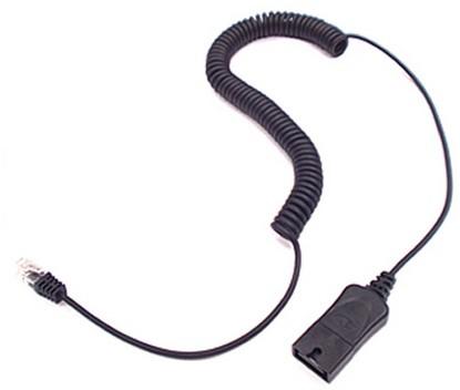 Plantronics 38232-01 4m Black telephony cable