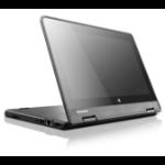 "Lenovo ThinkPad Yoga 11e 1.6GHz N3160 11.6"" 1366 x 768pixels Touchscreen Black Chromebook"