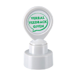 Colop STAMP VERBAL FEEDBACK GIVEN