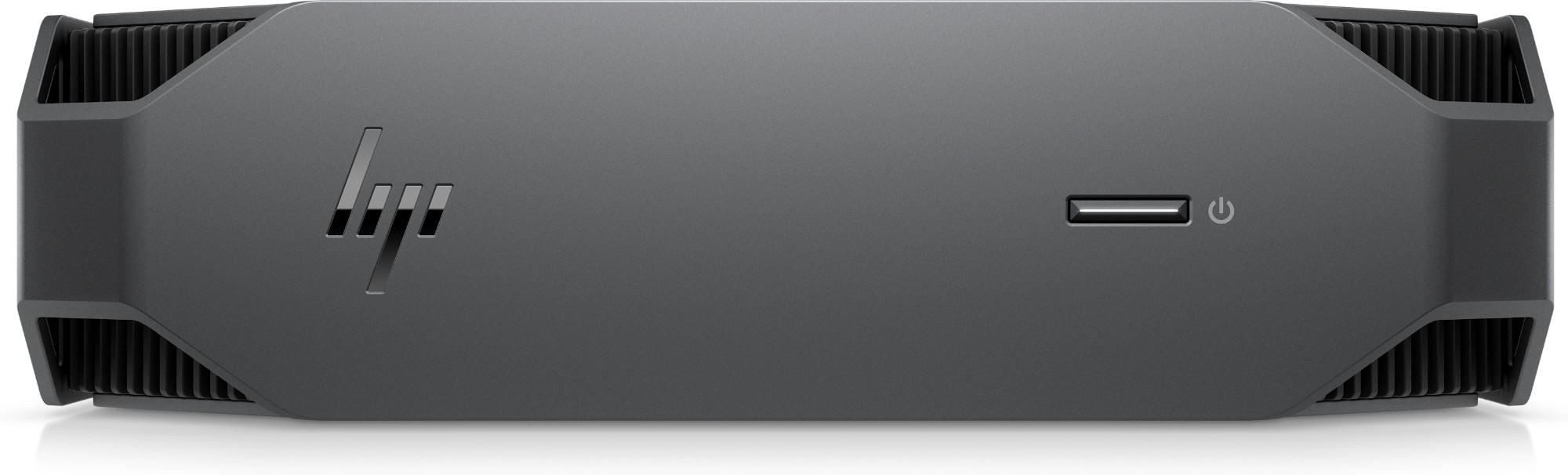 HP Z2 Mini G5 DDR4-SDRAM i7-10700 mini PC 10th gen Intel-� Core��� i7 16 GB 256 GB SSD Windows 10 Pro Workstation Black, Grey