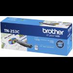 Brother TN-253C Cyan Toner Cartridge to Suit -  HL-3230CDW/3270CDW/DCP-L3015CDW/MFC-L3745CDW/L3750CDW/L3770C