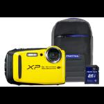 Fujifilm Finepix XP120 Tough Yellow Camera Kit inc 32GB SD Card & Case