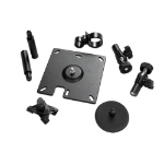 APC Surface Mounting Brackets for NetBotz Room Monitor Appliance/Camera Pod Black flat panel wall mount