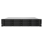 QNAP TS-1232PXU-RP-4G/120TB TOSH 12 Bay NAS Rack (2U) Ethernet LAN Black AL324