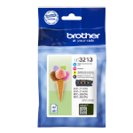 Brother LC-3213VALDR Ink cartridge multi pack, 400 pages, Pack qty 4 LC3213VALDR
