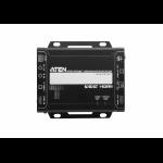 Aten VE814A AV transmitter & receiver Black