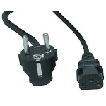 Hewlett Packard Enterprise AF576A 3.6m C19 coupler Black power cable