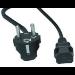 Hewlett Packard Enterprise AF576A cable de transmisión Negro 3,6 m C19 acoplador