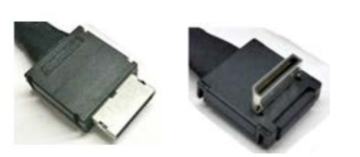 Intel AXXCBL600CVCR adaptador de cable OCuLink SFF-8611 Negro