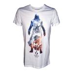 ASSASSIN'S CREED Unity Shades of a Revolution T-Shirt, Male, Medium, White (TS208016ASC-M)