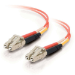 C2G 2m LC/LC LSZH Duplex 50/125 Multimode Fibre Patch Cable cable de fibra optica Naranja