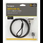 Targus Defcon 1.8m Black cable lock