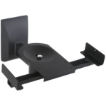 Techly Couple Speakers Wall Brackets up to 25kg Black ICA-SP SS201