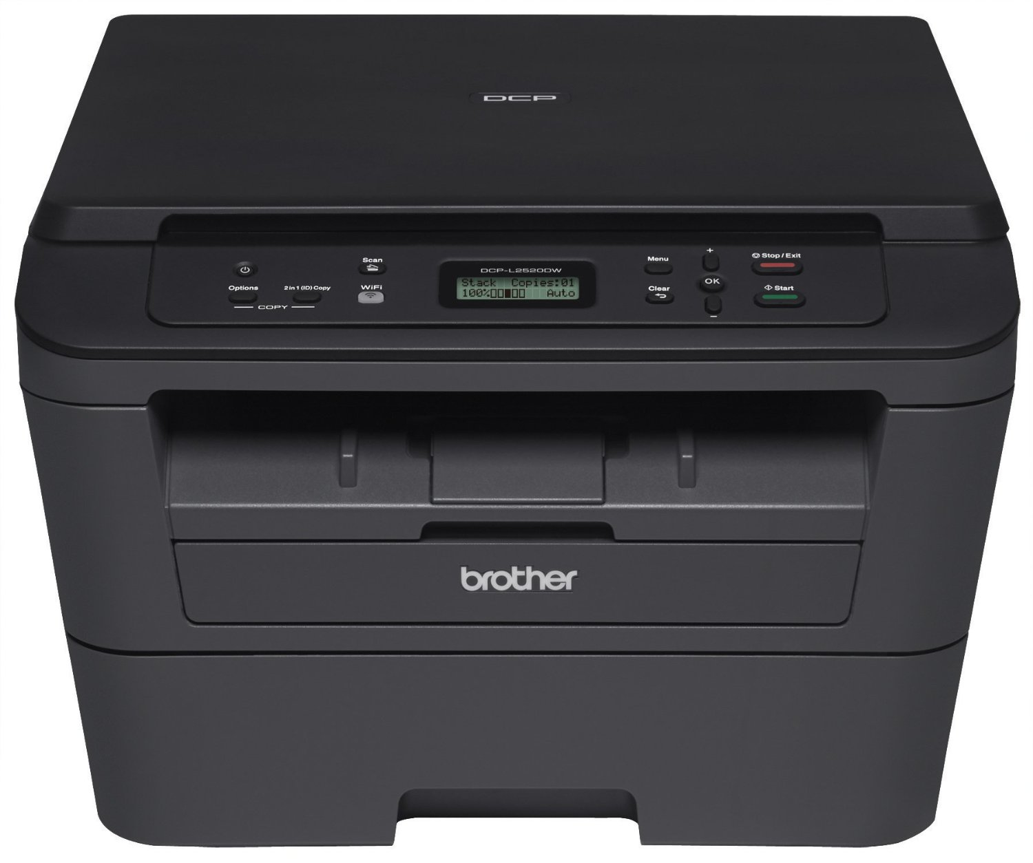 Brother DCP-L2520DW 2400 x 600DPI Laser A4 26ppm Wi-Fi multifunctional
