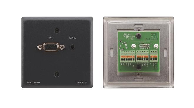 Kramer Electronics WXA-3 Black socket-outlet
