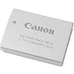 Canon NB-5L Lithium-Ion (Li-Ion) 1120mAh rechargeable battery