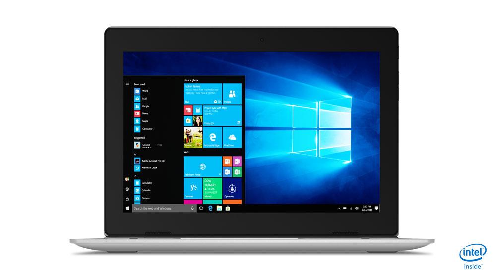 "Lenovo IdeaPad D330 Grijs Hybride (2-in-1) 25,6 cm (10.1"") 1280 x 800 Pixels Touchscreen Intel® Celeron® N4000 4 GB LPDDR4-SDRAM 64 GB eMMC"
