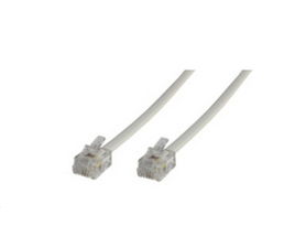 Microconnect MPK103 3m White telephony cable