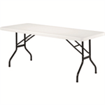 JEMINI FF JEMINI 1830MM FOLDING RECT TABLE WHIT