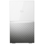 Western Digital MY CLOUD HOME Duo 6 TB personal cloud storage device Ethernet LAN Silver, White