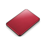 Buffalo MiniStation Slim 1000GB Red external hard drive