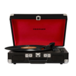 Crosley Cruiser Deluxe Belt-drive audio turntable Black, Red