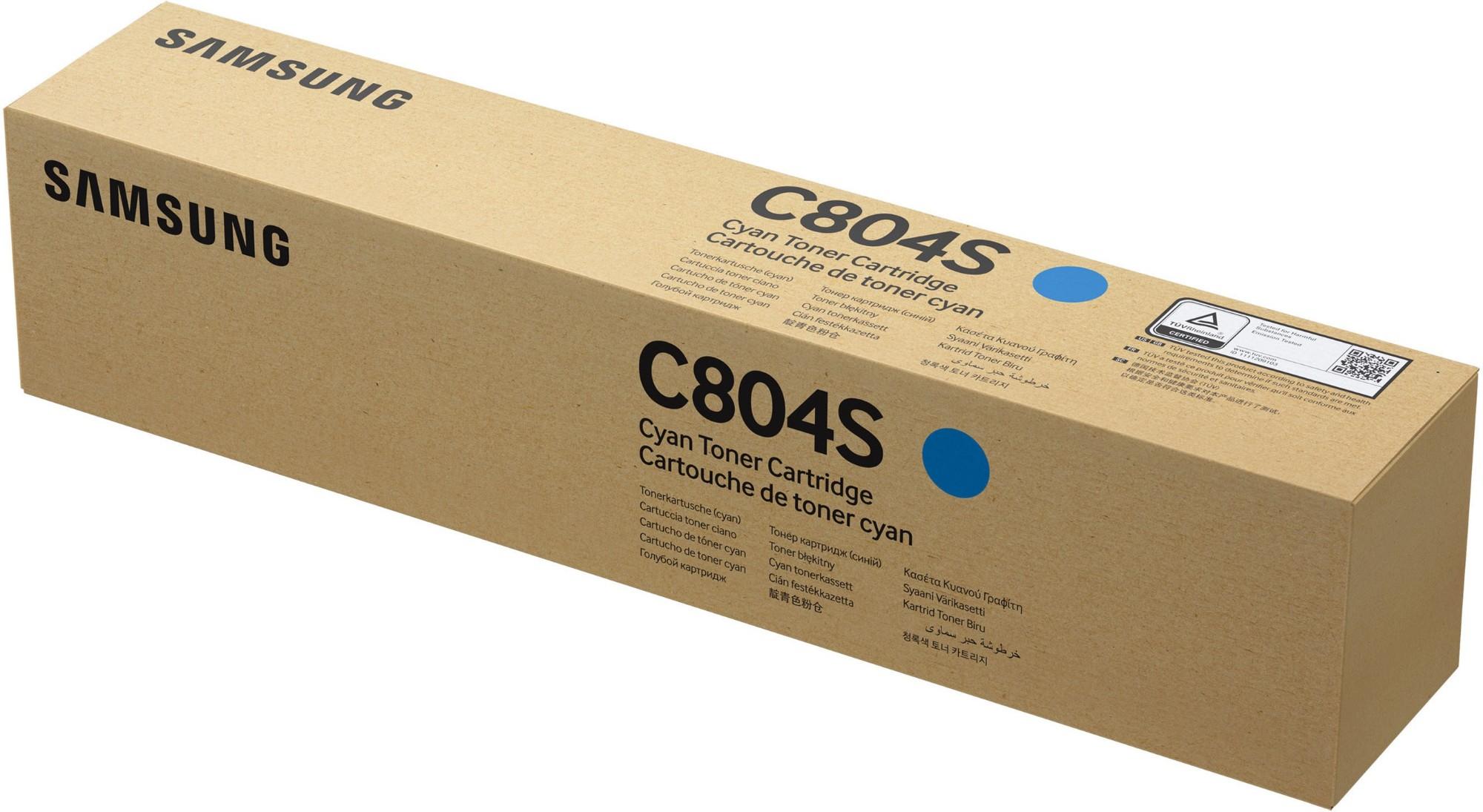 Samsung CLT-C804S Original Cian 1 pieza(s)