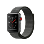 Apple Watch Series 3 OLED GPS (satellite) Cellular Grey smartwatch