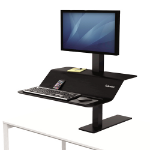 Fellowes 8080101 desktop sit-stand workplace DD