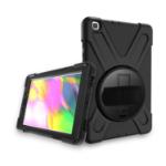 """eSTUFF Samsung Galaxy Tab A 8.0 2019 20.3 cm (8"""") Cover Black"""