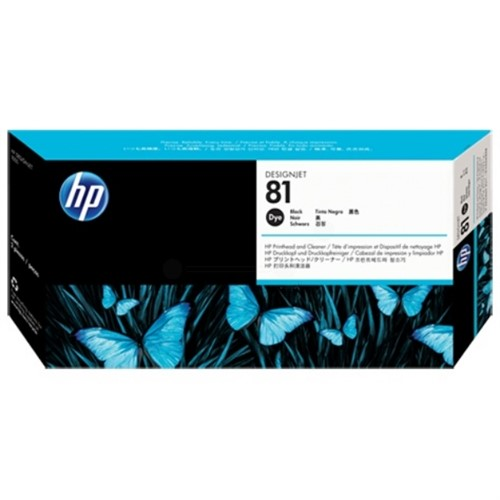 HP C4950A (81) Printhead black, 13ml