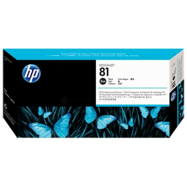 HP C4950A (81) Printhead black, 13ml