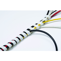 D-Line CABLE TIDY SPIRAL WRAP 2.5M WHT
