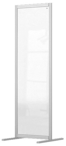 Nobo 1915517 magnetic board Grey, Transparent