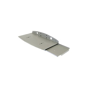 Keyboard Tray With Sliding Mouse Tray & Wrist Rest Holder Grey