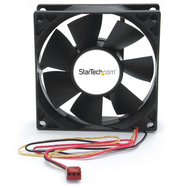 StarTech.com 80x25mm Dual Ball Bearing Computer Case Fan w/ TX3 Connector FANBOX2