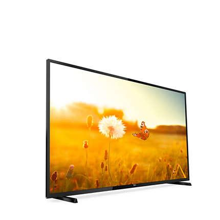 """Philips EasySuite 43HFL3014/12 TV 109.2 cm (43"""") Full HD Black"""