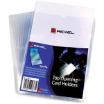 Rexel Card Holders A4 Clear (25) filing pocket