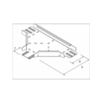 DP Building Systems TUHT100PG T-type cable tray