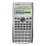 Casio FC-100V Pocket Financial Grey calculator