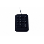 Gamber-Johnson iKey Mobile teclado numérico Universal Negro