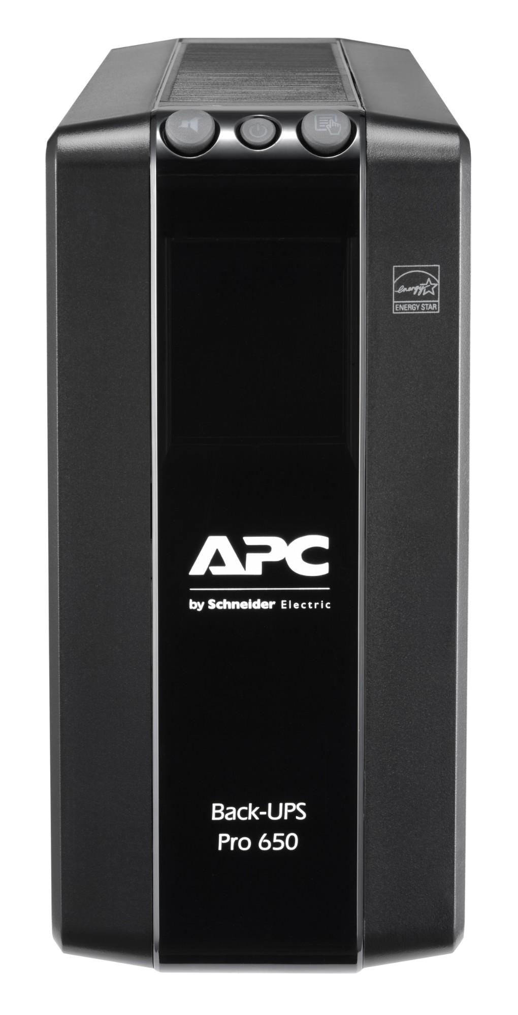 APC BR650MI sistema de alimentación ininterrumpida (UPS) Línea interactiva 650 VA 390 W 6 salidas AC