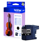 Brother LC-127XLBK Ink cartridge black, 1.2K pages, 9ml LC127XLBK
