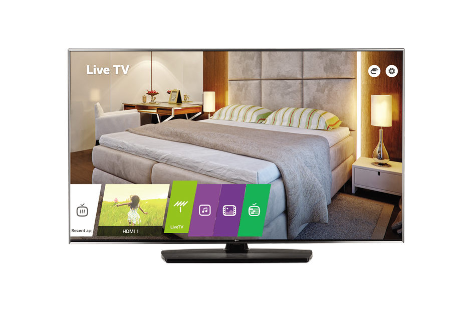 "LG 43UV761H hospitality TV 109.2 cm (43"") 4K Ultra HD 330 cd/m² Black,Blue Smart TV 20 W"