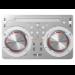 PIONEER DJ Controller with Virtual DJ (White