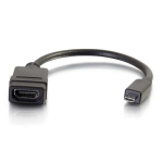 C2G 80510 video cable adapter 0.2 m Micro-HDMI HDMI Black