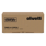 Olivetti B0360 Toner black, 11K pages @ 5% coverage, 1,500gr