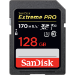 Sandisk Exrteme PRO 128 GB memoria flash SDXC Clase 10 UHS-I